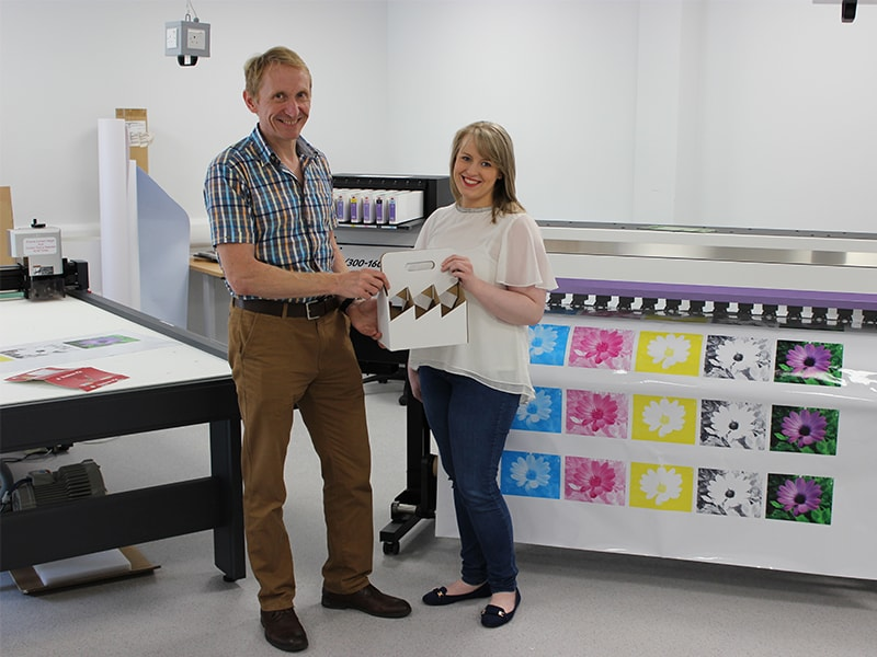 The 'Packaging' Proof Is In The Pudding As Loughry Campus Makes Mimaki Investment