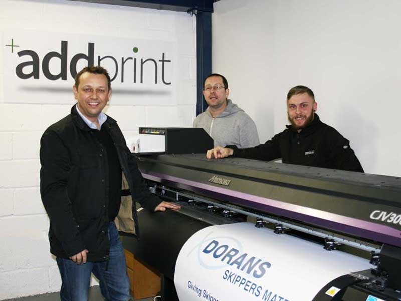 Mimaki CJV300 Is A Winner For Addprint Ltd
